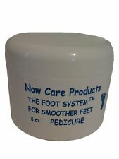 8 oz foot pedicure scrub powder form softens feet peppermint scent bath soak