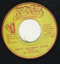 "Junior Delgado - Awake Rastaman Awake JA 7"" Rockers ‎NEAR MINT ROOTS DUB PABLO"