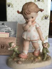 """Memories of Yesterday Figurine 1991 """"Hurry Up For The Last Train To Fairyland"""""""