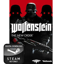 Wolfenstein el nuevo orden Pc Steam Key