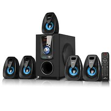 BLUETOOTH 5.1 CH HOME THEATER SURROUND SOUND STEREO SYSTEM USB SD MP3 PLAYER