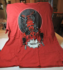 NEW Loot Crate EXCLUSIVE Marvel DEADPOOL T-Shirt Tacos Mens L Large RARE 3XL