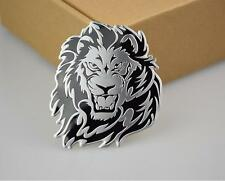 3D personalized car stickers car lion logo metal badge logo applique logo tail