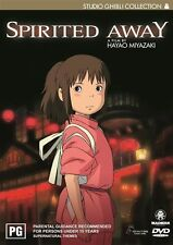 Spirited Away Special 2 Disc DVD Set Edition Collection PAL Region 4 R4
