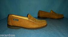 chaussures mocassins PARABOOT en  cuir veau p  6,5 ou  40 fr  tres bon etat