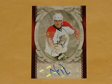2010-11 Artifacts Auto-Facts Hockey Card # AF-NH Nathan Horton