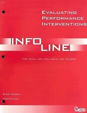Evaluating Performance Interventions: Tips, Tools, and Intelligence for Trainers