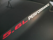 5.6L PERFORMANCE (pair) Hood decals FITS Nissan Titan Endurance Pro-4x and other