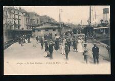France Pas-de-Calais DIEPPE Gare Maritime Arrive du Train LL 1900s u/b PPC