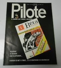 PILOTE French Comic Cartoon Magazine #685 FN+ 52 pgs COLOR Oversized