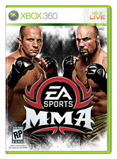 ELDORADODUJEU     EA SPORTS MMA MARTIAL MIXED ARTS Pour XBOX 360 NEUF VF
