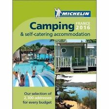 Camping France 2016 (Michelin Camping Guides), Michelin, Very Good condition, Bo