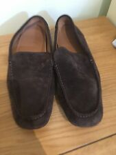 Hugo Boss Men's Suede Loafers Driving Shoes Slip-one Size 8