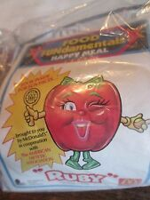 McDonalds HAPPY MEAL Toy RUBY Apple 1992 FOOD FUNDAMENTAL  SEALED NEW