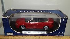 1/18 MOTORMAX 2004 AUDI A4 CABRIOLET RED yd
