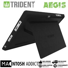 Trident Aegis Signature Lightweight Rugged Leather Case + Stand For Surface 3