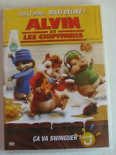 DVD ALVIN ET LES CHIPMUNKS - Tim HILL - Jason LEE - NEUF