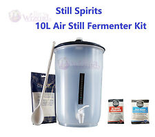 Still Spirits 10L Air Still Fermenter Kit for Air Still Beer Brewing Yeast Kit