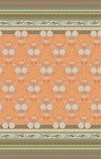 Bassetti trapuntato Copriletto Loto V9 arancione 240x255 Cotone Fodera ovp