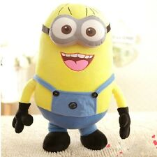 """For Kid Gift  9"""" Jorge Despicable Me 2 Plush Soft Toy Minions 3D Eye Doll Xmas"""