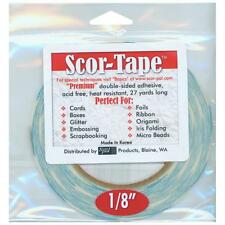 "Score Tape Adhesive 1/8"" x 27 yards"