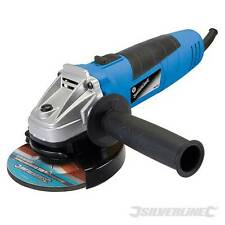 "HEAVY DUTY SILVERLINE 500W 4.5"" 115mm ELECTRIC ANGLE GRINDER & 3 DISCS WARRANTY"