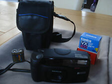 Vintage 1990s Rare Ricoh AF Multi Shotmaster 35mm Film Camera Black FILM EXTRAS