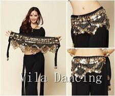 New Style coins belly dance waist chain hip scarf bellydance belt