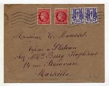 A4809) FRANCE 1946 Cover Maisons Laffitte - Marseille
