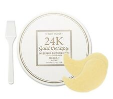 [Etude House] 24K Gold Therapy Collagen Eye Patch 1.4g*60Sheets / Korea Cosmetic