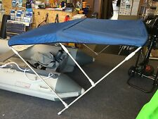 """BOAT BIMINI CANOPIES WITH OVERALL COVER ADJUSTABLE WIDTH  140cm to 160cm 55""""-63"""""""