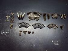 1995 95 POLARIS XLT 600 SNOWMOBILE ENGINE HARDWARE BOLTS SPARK PLUGS NUTS