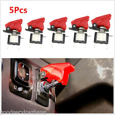 5X RED LED LIGHTED TOGGLE / ROCKER SWITCH 12V 20A ON OFF Car Truck