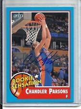 Chandler Parsons 11/12 Fleer Retro Autograph (Rookie Sensation)