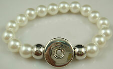 hot sell Diy handmade  beads Bracelet fit chunk snap button FREE T9