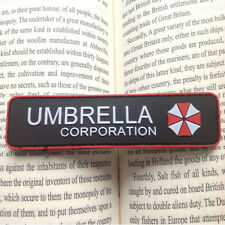 RESIDENT EVIL UMBRELLA CORPORATION 3D PVC ARMY MORALE CHEST RUBBER PATCH