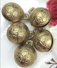 5PCS 27mm Excellent Chinese Tibet brass bell Feng shui