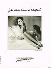 PUBLICITE ADVERTISING 025  1990  JB MARTIN   chaussures