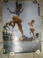 Vintage ADIDAS Advertising Poster - MONTREAL 1976 Summer Olympics *RARE Sneakers