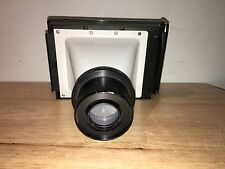 Polaroid Land Camera Back 4x5? VM5161A w/ Leitz Wetzlar 0.8x Scientific Adapter