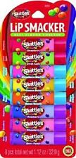 New Lip Smacker Skittles Party Pack Strawberry Apple Banana Mango Berry Asst!