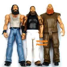 3x WWE Bray Wyatt Family Luke Harper Erick Rowan Wrestling Action Figure Kid Toy