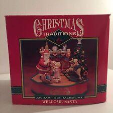 Welcome Santa Animated Musical Christmas Decor Christmas Traditions