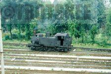 35mm Slide FS Italian Railways Steam Loco Class 835 1972 Original Italy Italia