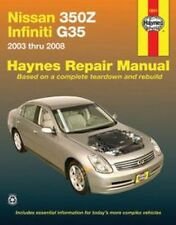 2003 2004 2005 2006 2007 2008 Nissan 350Z Infiniti G35 Repair Manual 7233