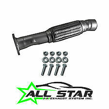 All Star Exhaust 54751 Direct-Fit Converter Repair Flex pipe Kit)