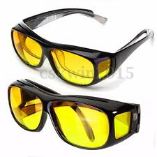 Unisex HD Lenses Sunglasses UV Protection Night Vision Goggles Driving Glasses