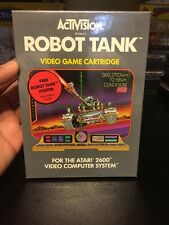 NEW Atari 2600 Robot Tank by Activision 1983 Vintage Sealed Video Game W/ Poster