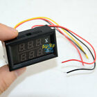 Super Digital LCD DC volt&amp Combine 2 in 1 Panel Meter Ammeter Voltmeter 20A