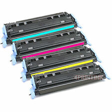 4 Pack Q6000A-Q6003A Toner For HP Color LaserJet 1600 2600 2605dn 2605dtn